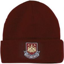 OF974 ADULT WEST HAM FC CORE BEANIE